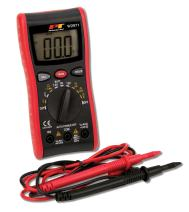 Performance Tool W2971 Digital Multimeter, Volt Amp Ohm Meter with Diode and Continuity Test
