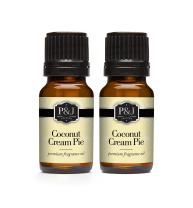Coconut Cream Pie Fragrance Oil - Premium Grade Scented Oil - 10ml - 2-Pack