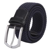 "Weifert Men's Stretch Woven 1.3""Wide Elastic Braided Belts"