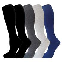 Knee High Cushion Warm Winter Socks Women&Men - Thick Heat Insulated Boot Thermal Socks For Cold Weather