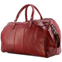 Floto Venezia Duffle Bag Travel Bag Luggage version 2.0 (Tuscan Red)