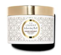 LALICIOUS Sugar Coconut Velour Body Melt - Gel-to-Oil Moisturizer with Macadamia Nut Seed Oil (8 Ounces)