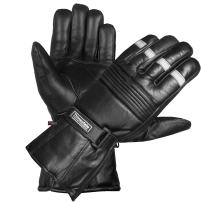 -20 ℉ Winter Men Premium Sheep Leather Motorcycle Thinsulate Gauntlet Gloves L