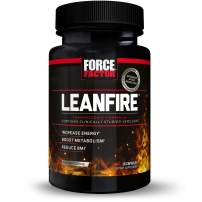 Force Factor LeanFire Thermogenic Preworkout to Increase Energy and Enhance Mental Clarity, 30 Count