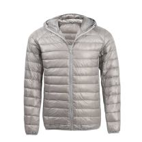 Hiheart Mens Ultra Light Weight Puffer Down Jacket with Hood