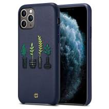 CYRILL [Leather Collection Leather Case Designed for iPhone 11 Pro Max (2019) - The Vases