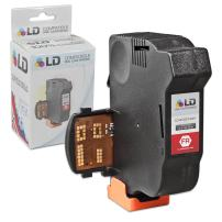 LD Remanufactured Inkjet Cartridge Replacement for Neopost 4145144H (Fluorescent Red)