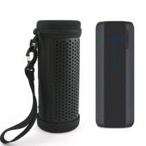 for UE Megaboom Speaker Wireless Bluetooth Portable Hard Carrying Case Travel Bag (Black)