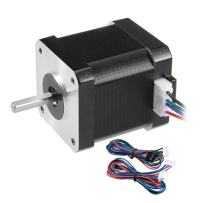 uxcell Stepper Motor Nema 17 Bipolar 20mm/10mm 0.51NM 1.7A 4.3V 4 Lead Cables for 3D Printer CNC Router Laser Lathe Machine Stage Light Control DIY Hobby