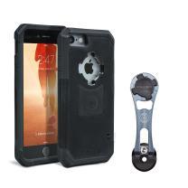 Rokform [iPhone 7 & 8 PLUS] Pro-Series Adjustable Aluminum Bike Mount / Holder & Protective Phone Case, Twist Lock & Magnetic Security