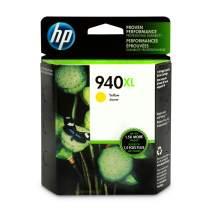 HP 940XL   Ink Cartridge   Yellow   C4909AN