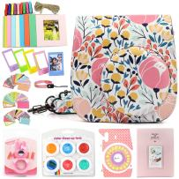 WOGOZAN Camera Accessories Compatible with Fujifilm Instax Mini 9/8/8+ Includes Case/Album/Selfie Lens/Filters/Wall Hang Frames/Photo Frames/Camera Stickers/Hand Strap/Photo Stickers