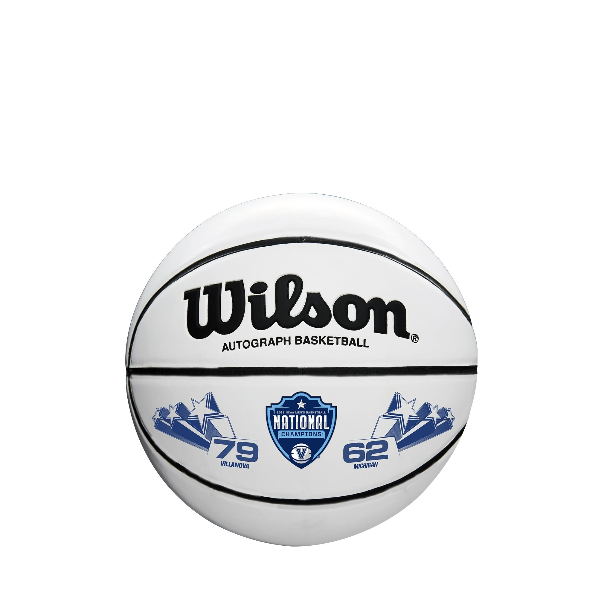Wilson Sporting Goods WTB0503IDCHP18A NCAA National Championship basketballs, Brown/White, Mini