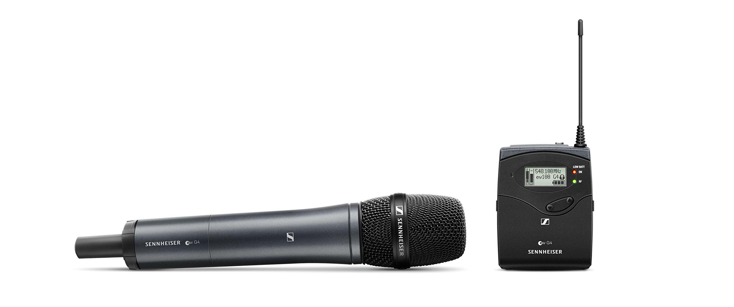 Sennheiser Pro Audio Ew 100 Portable Wireless Microphone System, G, ew 135P G4-A (ew 135P G4-A)