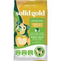 Solid Gold - Holistique Blendz - Natural Senior Dog Food for Sensitive Stomachs - Oatmeal, Pearled Barley and Fish Meal - Potato Free - Dry Dog Food