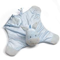 "GUND Baby Roly Polys Horse Comfy Cozy Blanket Stuffed Animal Plush Toy, Blue, 24"""