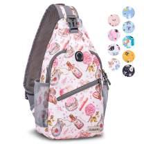 Sling Bag for Women, Water Resistant Sling Backpack Lightweight Crossbody Bag for Travel Cruise
