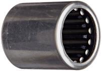 "Koyo JH-1016 Needle Roller Bearingd Drawn Cup, Open, Steel Cage, Inch, 5/8"" ID, 7/8"" OD, 1"" Width, 21000rpm Maximum Rotational Speed"