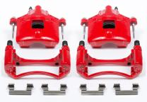 Power Stop S4638 Performance Powder Coated Brake Caliper Set For Chevy, Buick, Oldmobile, Pontiac