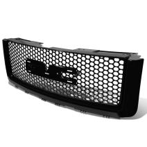 DNA MOTORING GRF-056-BK Front Bumper Grille Guard, Black