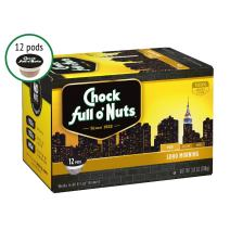 Chock Full o'Nuts Single Serve Coffee Pods, Soho Morning Mild Roast Breakfast Blend - Premium Arabica Coffee - Compatible with Keurig K-Cup Brewers (72 Count)