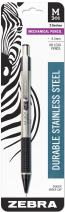 Zebra M-301 Mechanical Pencil 0.5mm 1 Pack, Black (54011)