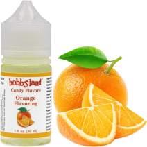 Hobbyland Candy Flavors (Orange Flavoring, 1 Fl Oz), Orange Concentrated Flavor Drops