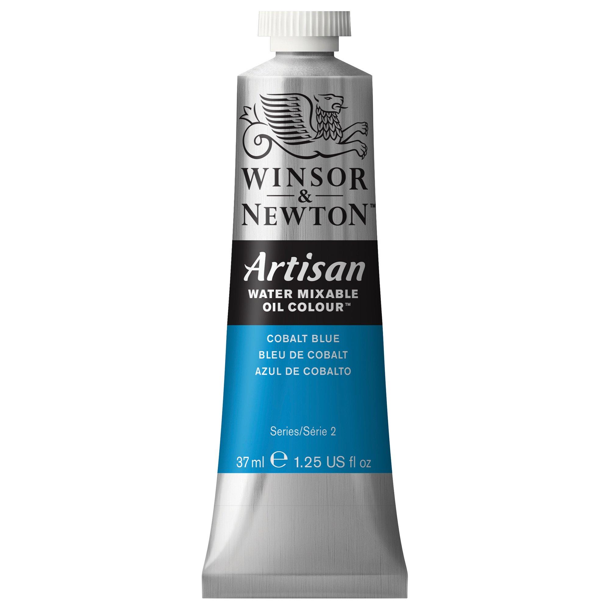 Winsor & Newton Artisan Water Mixable Oil Colour, 37ml Tube, Cobalt Blue