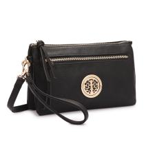 Fashion Multi-pockets Crossbody Bag Messenger Bag Purse Clutch Wristlet Wallet for Women