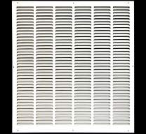 """28"""" x 34"""" Return Air Grille - Sidewall and Ceiling - HVAC Vent Duct Cover Diffuser - [White] [Outer Dimensions: 29.75w X 35.75""""h]"""