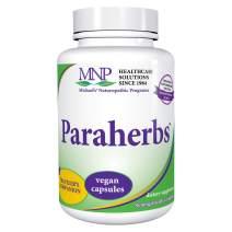 Michael's Naturopathic Programs Paraherbs - 60 Vegan Capsules - Fibers Support The Intestinal Tract, with Garlic, Black Walnut & Clove - Vegetarian, Gluten Free, Kosher - 60 Servings