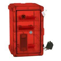 Bel-Art Secador Vertical Profile Amber 4.0 Auto-Desiccator Cabinet; 120V, 1.9 cu. ft. (F42074-1118)