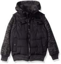 English Laundry Boys' Fashion Quilted Bomber Jacket