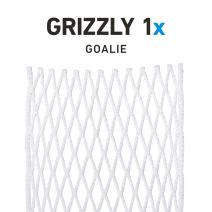 StringKing Grizzly 1x Semi-Hard Goalie Lacrosse Mesh Piece