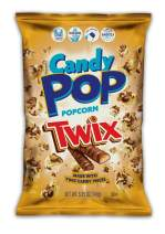 Twix Candy Coated Popcorn, Made with Real Twix Candy, Drizzled with Chocolate and Caramel, NON-GMO,5.25oz