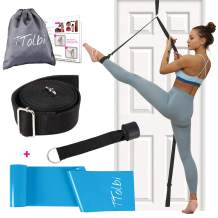 TTolbi Leg Stretcher: Stretching with Door Stretch Strap for Flexibility   Splits Trainer : Dance Equipment for Stretching in Ballet, Cheerleading, Gymnastics