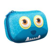 ZIPIT Wildlings Pencil Case/Pencil Box/Storage Box, Blue
