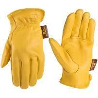 Men's Deerskin Full Leather Light-Duty Driving Gloves, Extra Large (Wells Lamont 962)