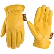 Men's Deerskin Full Leather Light-Duty Driving Gloves, Medium (Wells Lamont 962)