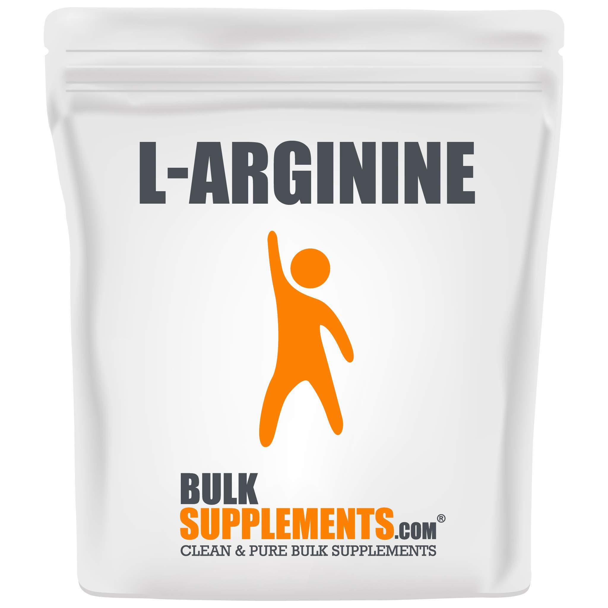 BulkSupplements L-Arginine Base Powder (250 Grams)