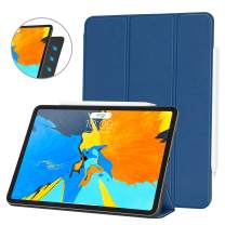 Ayotu Case for iPad Pro 11'' 2018(Old Model),Strong Magnetic Ultra Slim Minimalist Smart Case with Auto Sleep/Wake,Support Cover's Back fold adsorption,Trifold Stand Cover for iPad Pro 11'' 2018,Blue