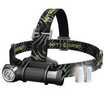 Nitecore HC30 1000 Lumens Compact Cree XM-L2 U2 LED Headlamp Headlight w/Two LumenTac CR123A Batteries