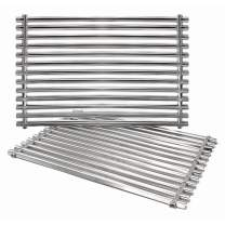 "Hongso 7521 7522 7523 15"" 304 Stainless Steel Cooking Grid Grate for Weber Old Spirit 200 Series, Spirit E/S 200 & 210 with Side Control Panel Genesis Silver A, Spirit 500 Gas Grill 65905 65904 SCG521"