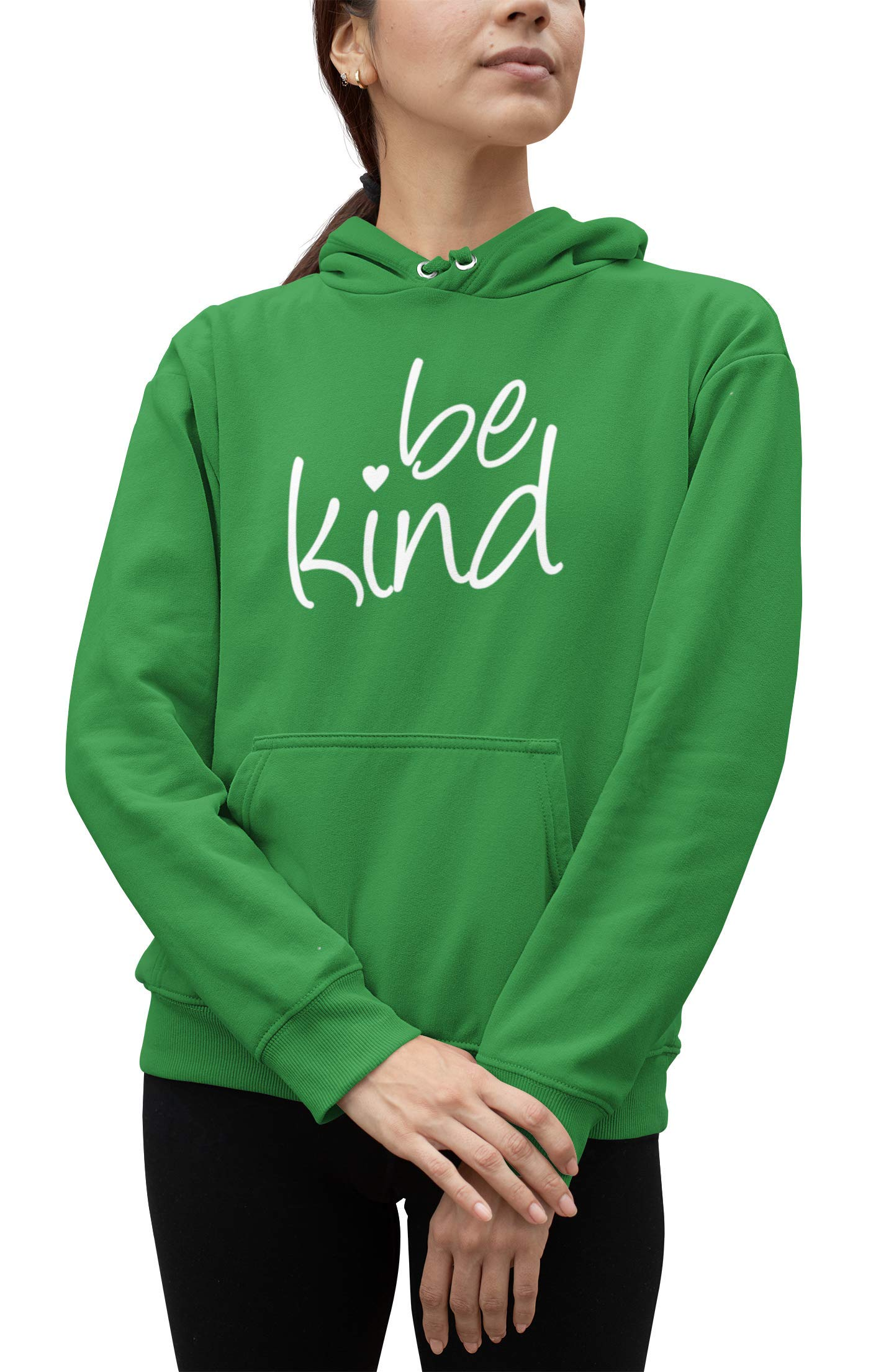 Go All Out Adult Be Kind Heart Sweatshirt Hoodie