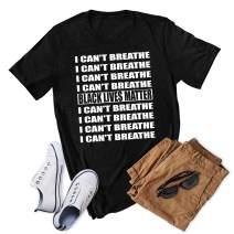 I Can't Breathe Black Lives Matter T-Shirt Shirt Hoodie