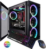 CUK Stratos Micro Gaming Desktop (AMD Ryzen 5 3600, 16GB DDR4 RAM, 512GB NVMe SSD, NVIDIA GeForce GTX 1650 Super 4GB, 600W PSU, No OS) Gamer PC Computer
