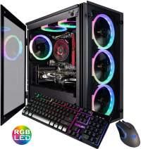 CUK Stratos Micro Gaming Desktop (AMD Ryzen 5 3600, 16GB DDR4 RAM, 512GB NVMe SSD, NVIDIA GeForce GTX 1660 Super 6GB, 600W PSU, No OS) Gamer PC Computer