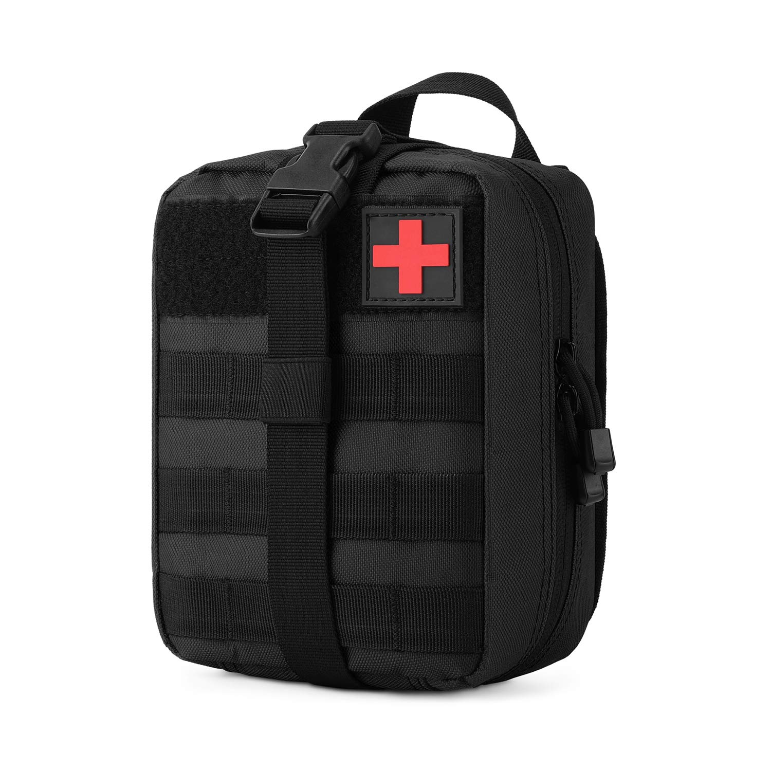 Gonex MOLLE Medical Pouch EMT First Aid Pouch Rip-Away IFAK Tactical Utility Pouch for Outdoor Activities Medical Supplies (Bag Only)