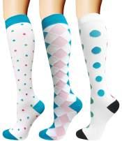 Compression Socks for Women & Men-Best for Running, Nurse,Travel,Cycling,Varicose,Maternity,Pregnant,Flight Socks