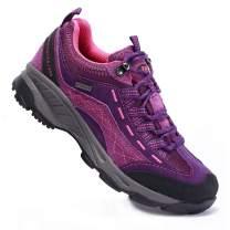 TFO Women's Hiking Shoes Anti-Slip Breathable Sneaker for Outdoor Walking Trekking.